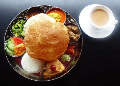 南インド料理レストラン「ダルマサーガラ」ランチミールス
